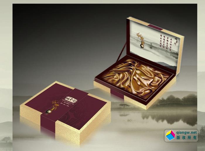 高档纸包木礼盒